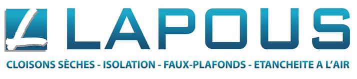 SARL LAPOUS - Cloisons sèches, isolation, faux plafonds, étanchéité à l'air